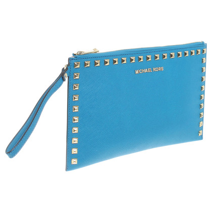Michael Kors clutch in Petrol
