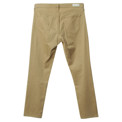 Adriano Goldschmied Beige narrow trousers
