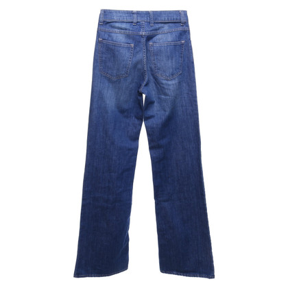 Acne Bootcut-jeans in blauw