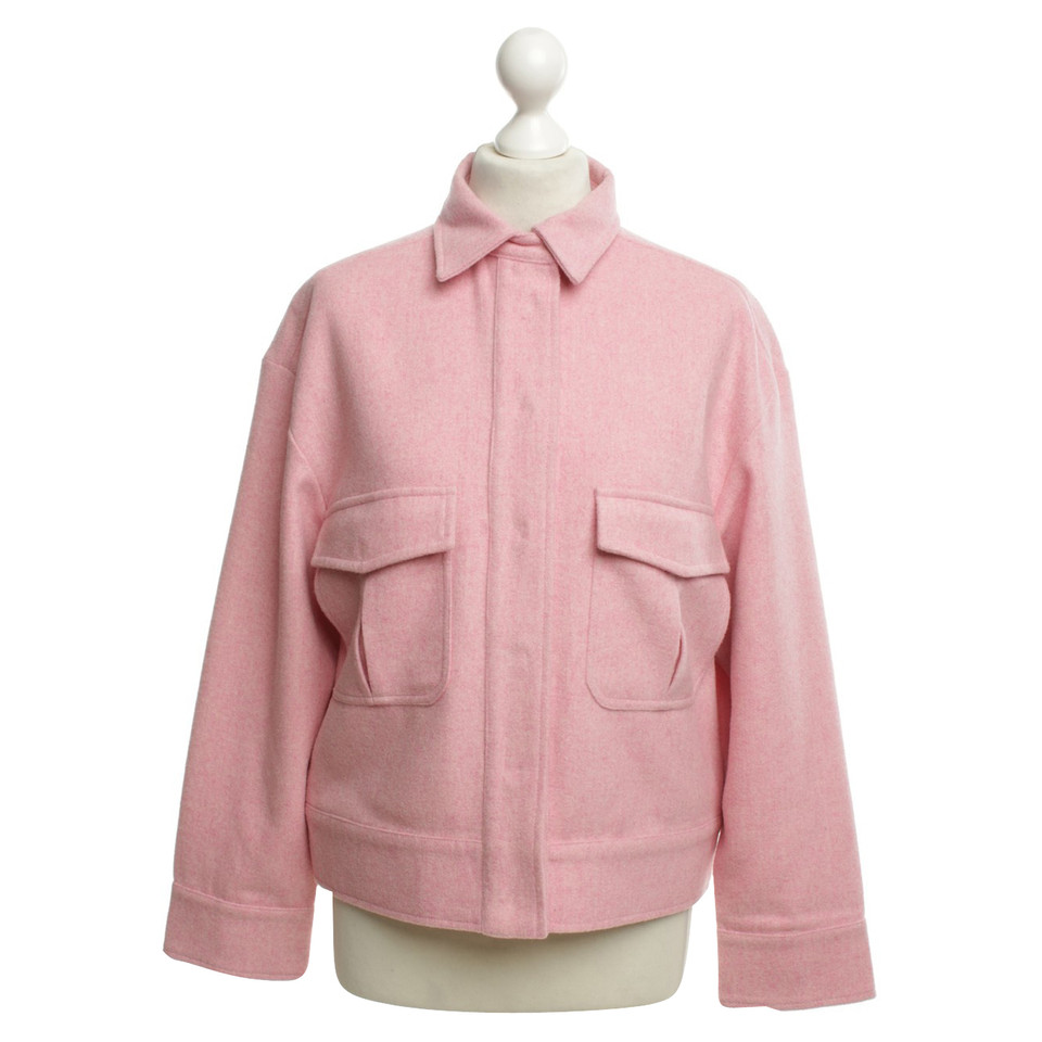 Ganni Jacket in Pink - Buy Second hand Ganni Jacket in Pink for ...