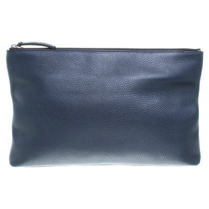 Other Designer Amanda Wakeley - dark blue clutch