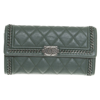 Chanel Wallet in green