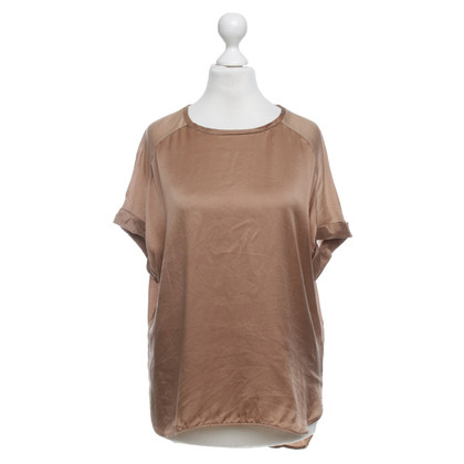 By Malene Birger T-shirt in Bruin