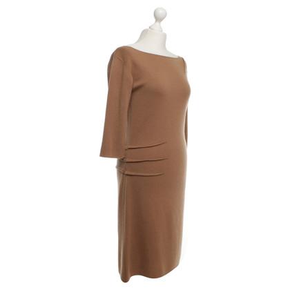 Andere merken Parenti's - kasjmier jurk in bruin