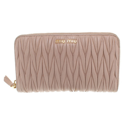 Miu Miu Wallet in Nude