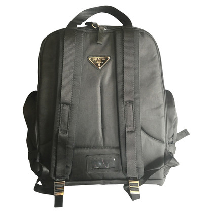 Prada Backpack in black
