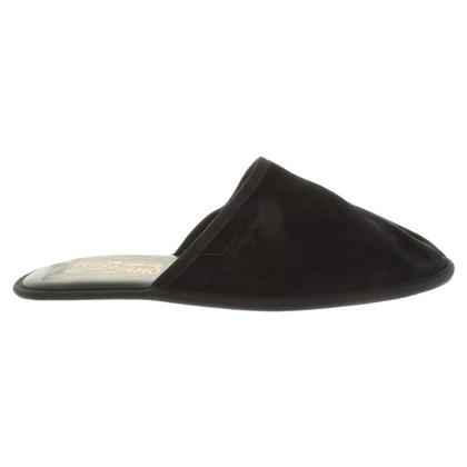 Salvatore Ferragamo slippers Suede