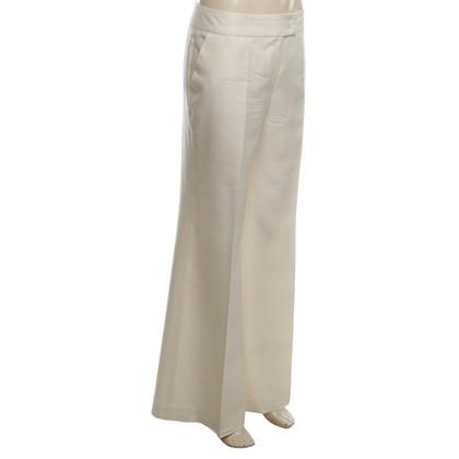 Escada Silk pants in cream