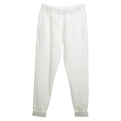 Schumacher Pantalone in bianco