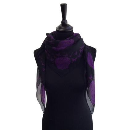 Alexander McQueen Silk scarf design print