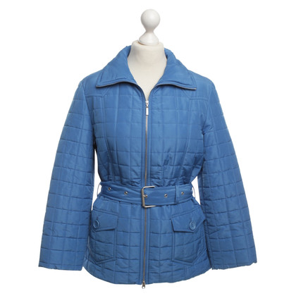 Escada Quilted Jacket in blue