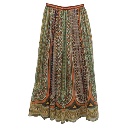 Valentino Printed cotton skirt