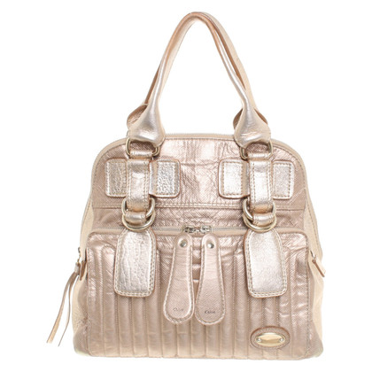 "Chloé ""Bay Bag"" in rose-metallic"
