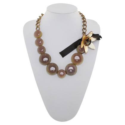 Marni Necklace with floral application