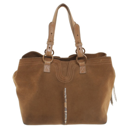 Dorothee Schumacher Brown suede handbag