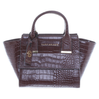 Kurt Geiger Shoulder bag in Bordeaux