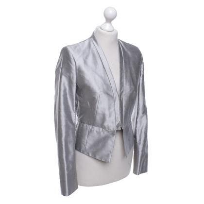 St. Emile Silk Blazer in light gray