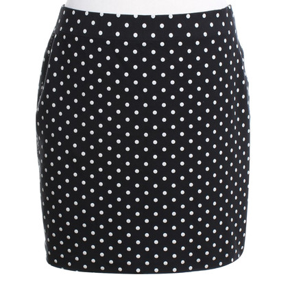 Marc Cain Elastic skirt in bicolor