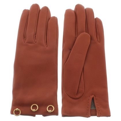 Hermès Leather gloves