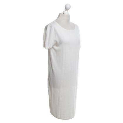 Allude vestito lavorato a maglia in crema