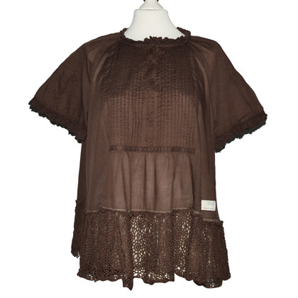 Odd Molly Tunic blouse in brown