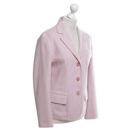 Jil Sander Cashmere Blazer In Pink