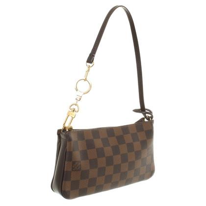 """Louis Vuitton """"Mini Pochette Accessoires Damier Ebene Canvas"""""""