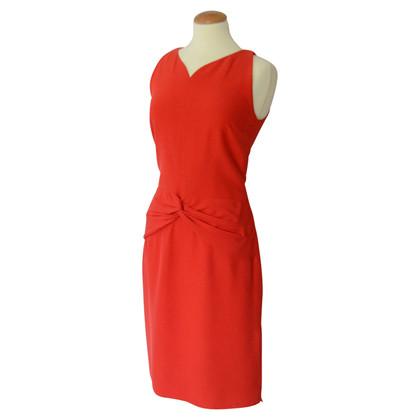 Valentino abito rosso con ruches