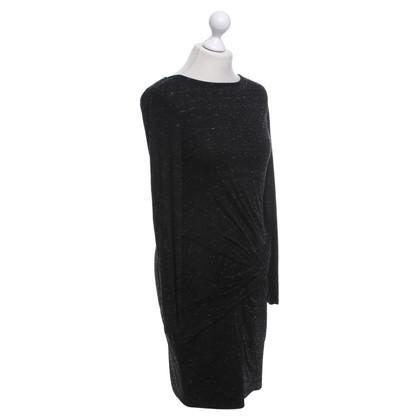 Karen Millen Jersey jurk in zwart / White