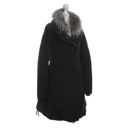 Marithé et Francois Girbaud Coat with fur collar
