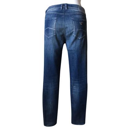Armani Jeans Blaue Skinny Jeans