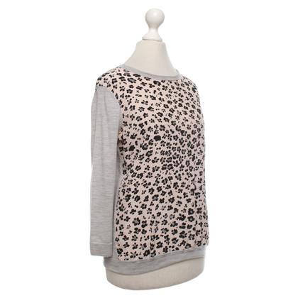 L.K. Bennett Sweater with silk insert