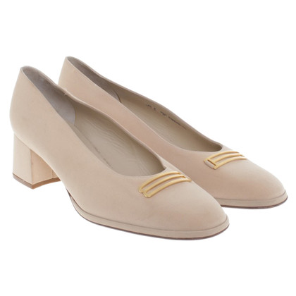 Bally Ballerina-Pumps in Beige
