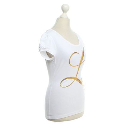 Moschino Love Top in bianco