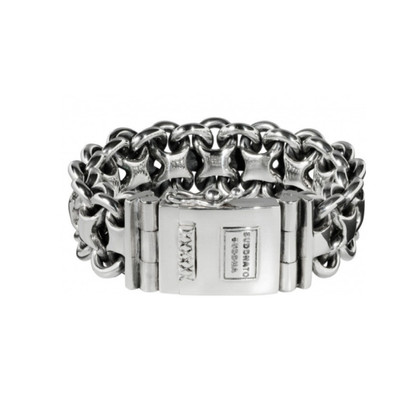 Buddha to Buddha Wide silver Bangle