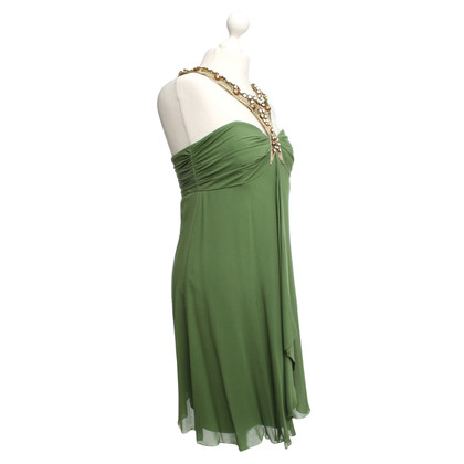 Temperley London Halter jurk in groen