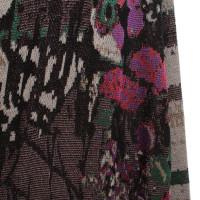 Marina Rinaldi Manteau avec motif coloré