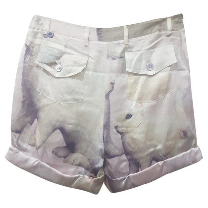 Moschino Cheap and Chic Shorts made of silk