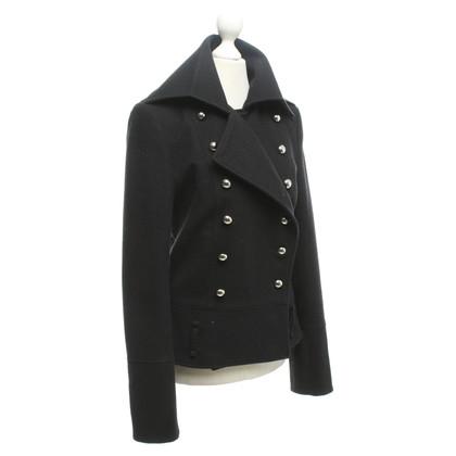 Dimitri Korte jas in zwart