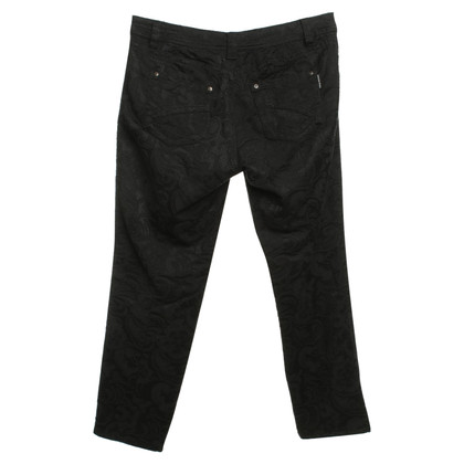 Marc Cain Pants with lace pattern
