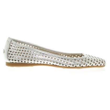 Jimmy Choo Ballerine in argento