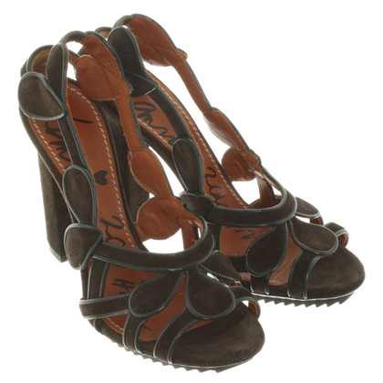 Lanvin Sandaletten aus Wildleder