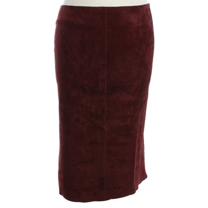 Jitrois Pencil skirt in Bordeau