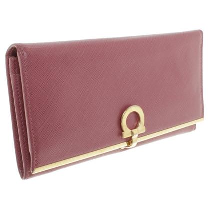 Salvatore Ferragamo Wallet in blush pink
