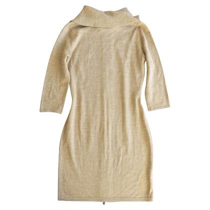 Calvin Klein Gebreide jurk met glitter
