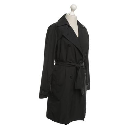 Moncler Trench coat in black