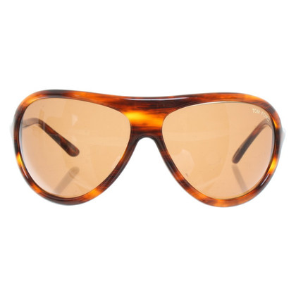Tom Ford Sonnenbrille in Havannabraun