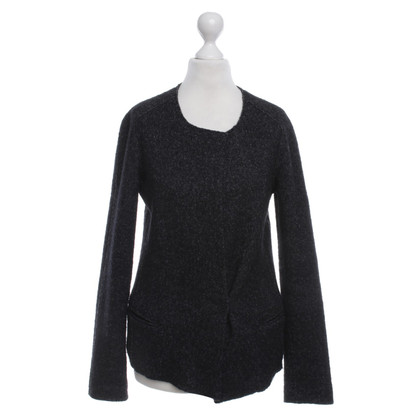 Isabel Marant Etoile Knit Blazer in Dark Grey