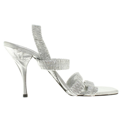 Prada Silver-colored sandals