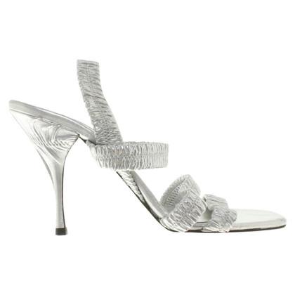 Prada sandali color argento